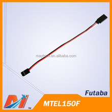 Maytech Futaba Servo Extension Leads 150mm for RC hobby