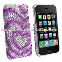 Rhine Stone Crystal Diamond bling case for iphone(Fashion)