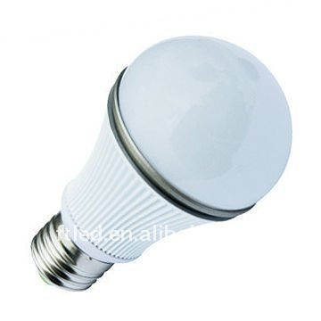 2011 new high quality cree q5 5w high power led bulb 7 light colors optional cold white 330LM