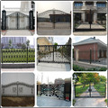 Alibaba supplier wholesale wrought iron villa fence ZX-ZTHL001