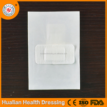 Softtextile nonwoven customized sterile wound dressing for injuries