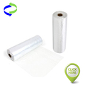 Clear HDPE Food Packaging Plastic Produce Roll Bags for Supermarket