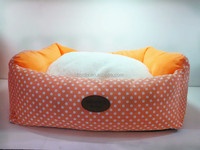 Chew proof dog beds with removable cushion/ warm and lovely cat bed