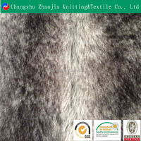 Wholesale wolf fake fur fabric for Garment and Toy ZJ092