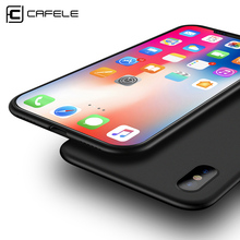CAFELE ShenZhen Fashion Custom Silicone Shell TPU Slim Cell phone Cover for iphone x Matte Mobile Phone Case for iphone x cases