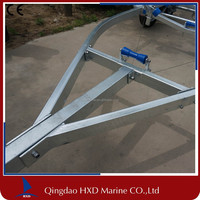 Lowest price in stock ! Hottest Hydraulic Boat Trailer Frame Manufacturer