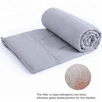 Weighted Blanket | Gravity  Heavy Blanket | 100% Cotton Material with Glass Beads