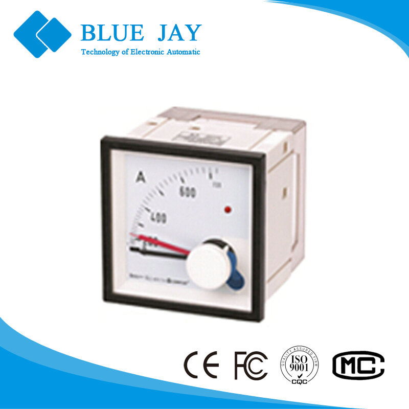 KLY-M input 5A Maximum Demand Ammeters, class 3 direct-heat analog current meter