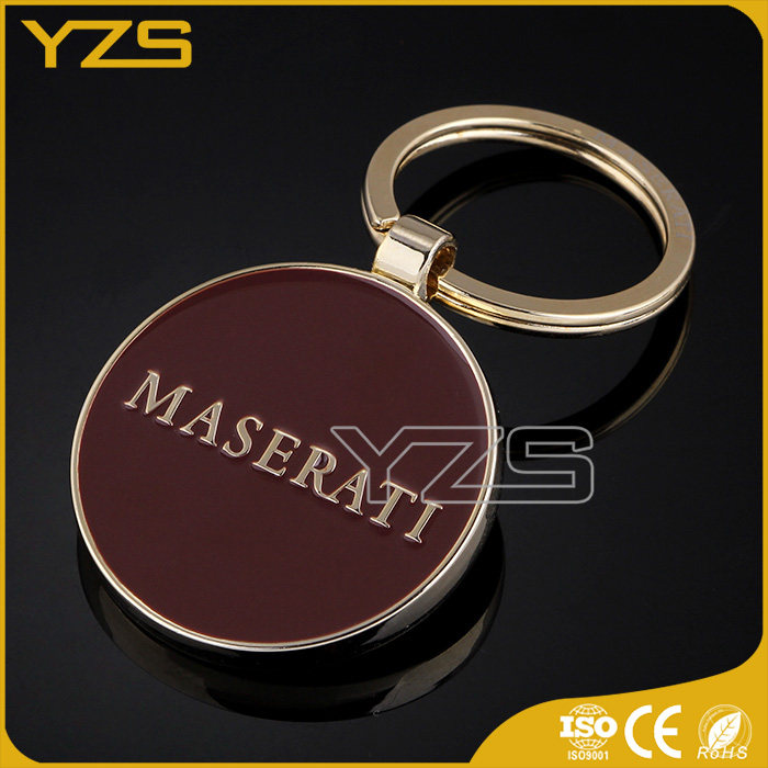 ISO&CE manufacturer produce promotional custom logo metal keychain