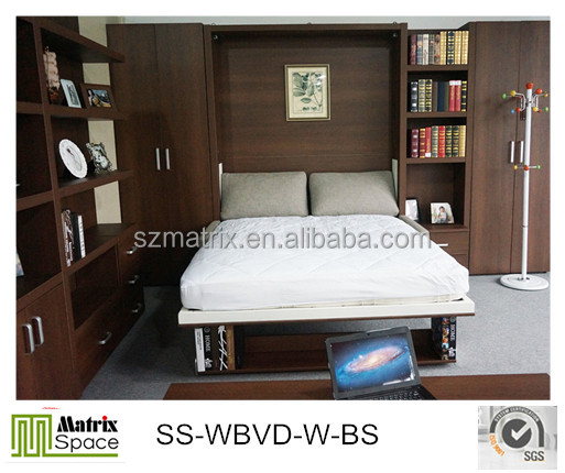 Murphy bed,Folding Wall Bed Space Save,Transformable Bed,Hidden Wall Bed