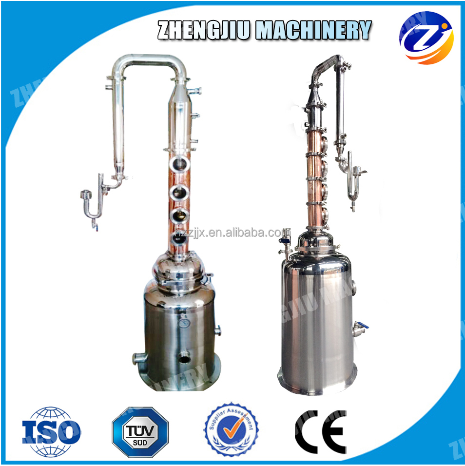 USA hot sale alcohol distiller for wine distillation equipment