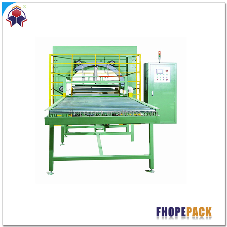 China good supplier Fast Delivery down film horizontal packaging machine