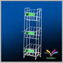 Made in China high quality best selling stable decorative fancy attractive metal wire cube shelf cabinet for book