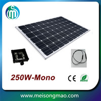 monocrystalline 250w solar panel in China