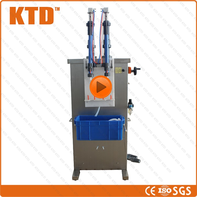 CE ISO 100% Good feedback 25-250ml salted and fermented soya paste double head filling machine