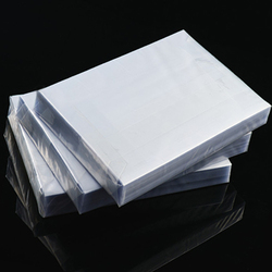 PVC coated overlay film for making ID card 0.08mm A4