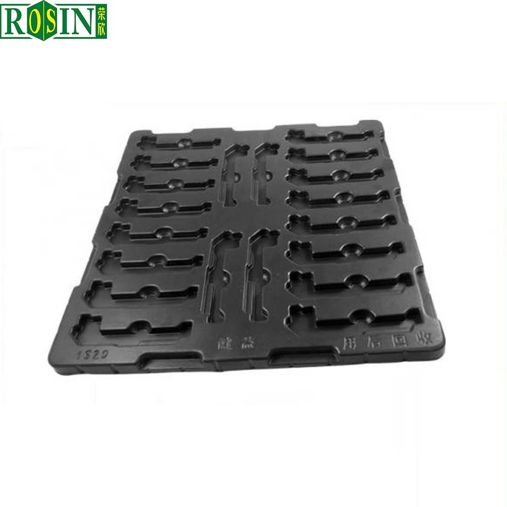 Anti-static electronic components plastic packing tray