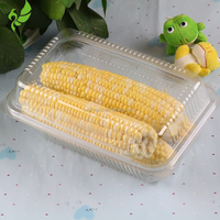 Tray and Box Type Custom Design Cheap Disposable Plastic Packaging for food