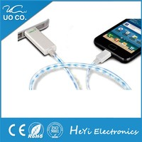 Promotional fibre optical Micro usb data cable driver for iphone