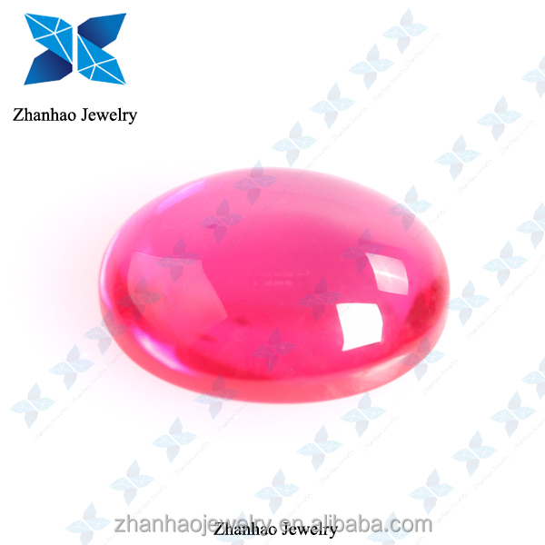 natural corundum /synthetic stone rough ruby/ruby cabochon stones
