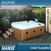 HS-390Y in ground whirlpool/ above ground hot tub/ american outdoor whirlpool