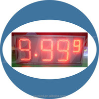Gas station led screen for price display