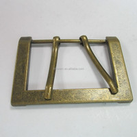 Large Anti-brass Metal Military Double Pin Belt Buckle For Wholesale