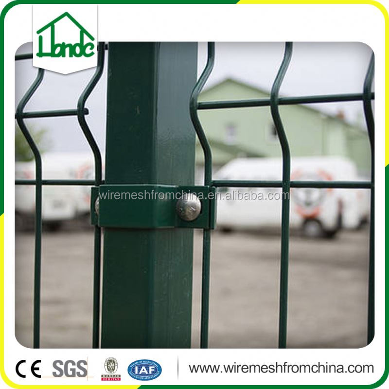 galvanised welded wire mesh fence
