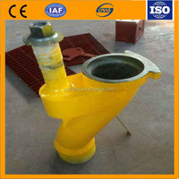 Concrete Pump Spare Parts S Valve / S tube / S pipe ,oval tube bending,gi pipe bend .any colour. small and big.