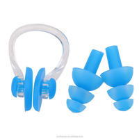 Waterproof Silicone Ear Plugs And Nose Clip For Swimming