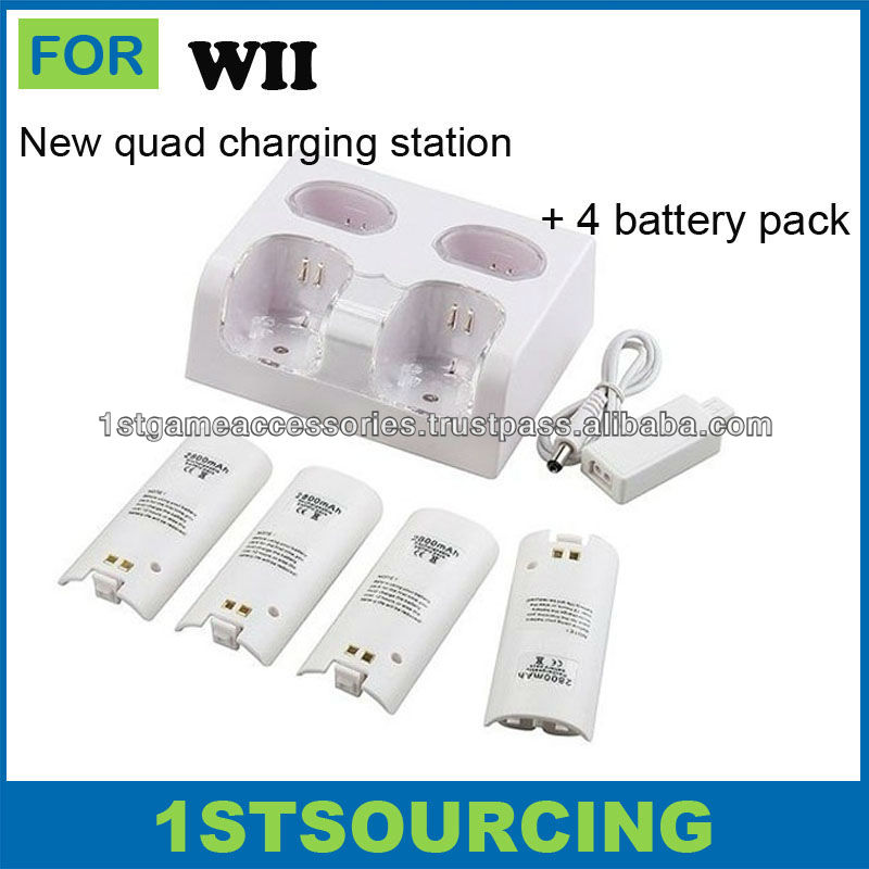 Quad Charge Station for Wii Remote Controller