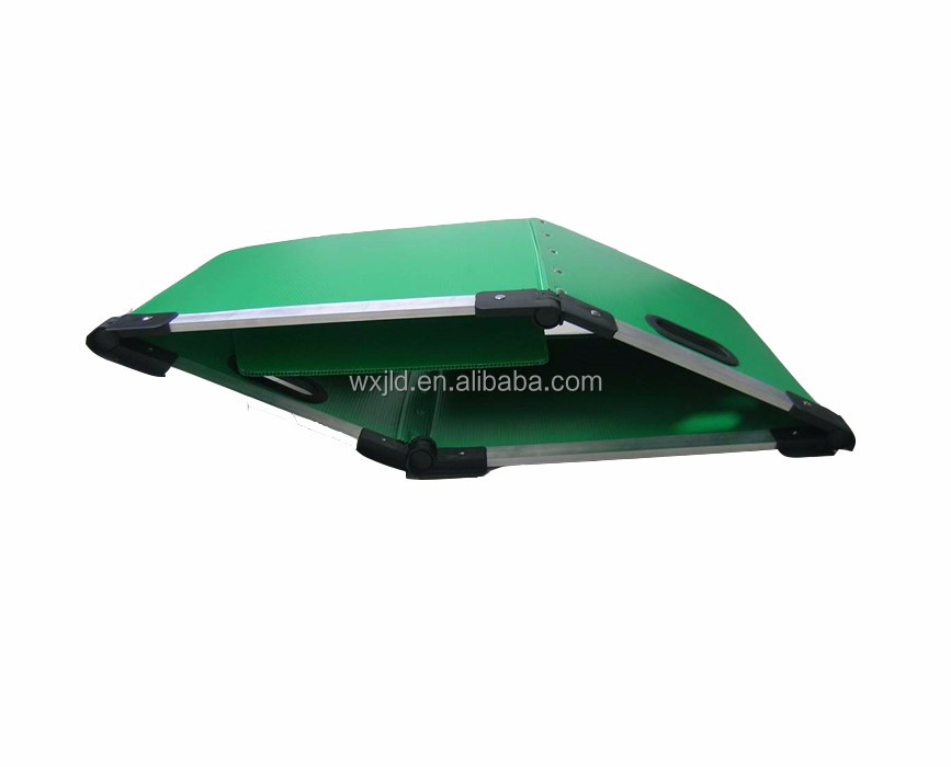 plastic pp corrugated box with handle with ISO SGS certificate