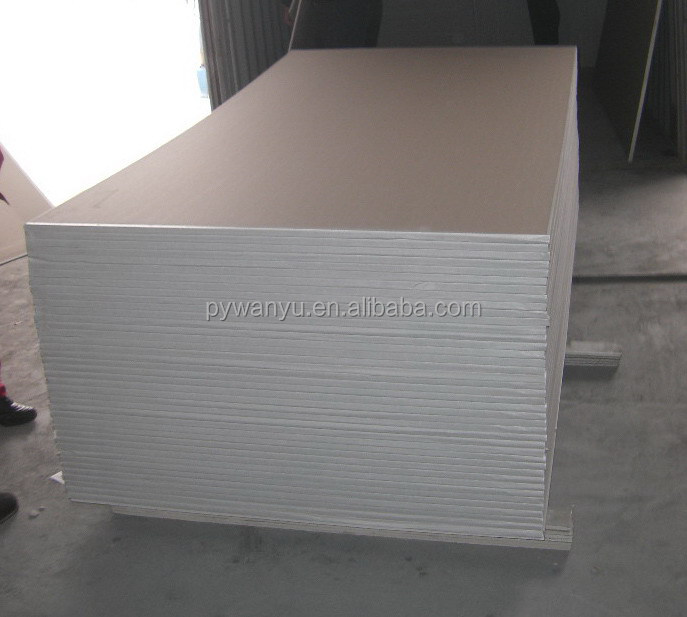 1200x2400x12.5mm Regular drywall board | decoration board