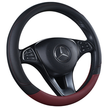 Wholesale PVC PU truck disposable microfiber leather steering wheel cover