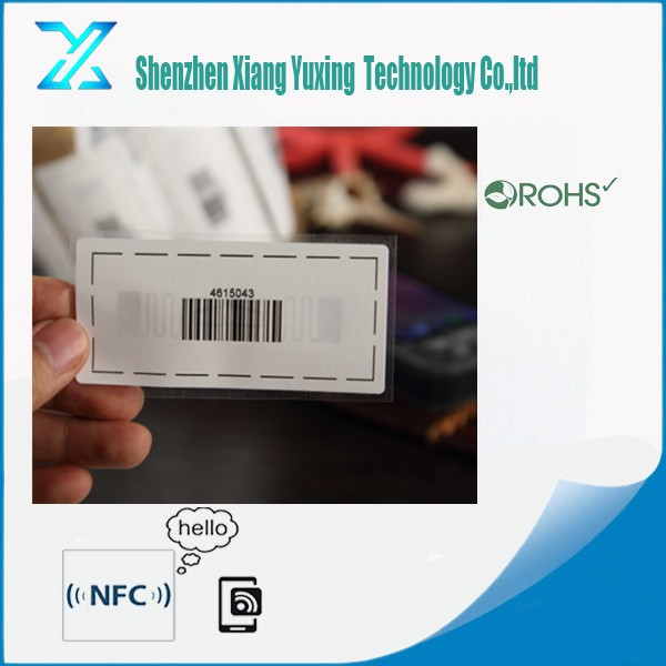 Vehicle Parcel Tracking Express RFID Label RFID Sticker Tag RFID Antenna Tag NFC Tag in Logistics Equipment