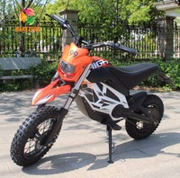 China 2017 cheap adult 350w 500w 10 inch off road electric fuel dirt bike for sale