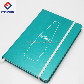 Promotional item Wholesale Business A5 Custom Printed Logo debossed pu Leather hardcover Notepad