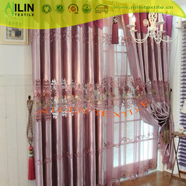 Embroidery curtains window curtain fashion design 2013 new style