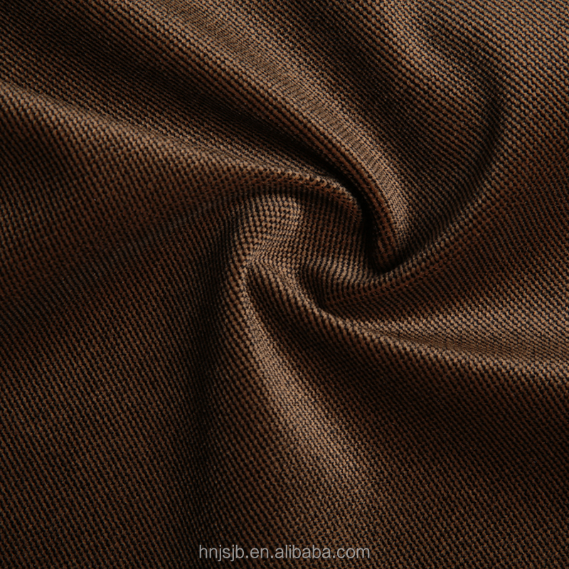 New fashion 100% polyester material Twilled fustian twills suit fabric for cloth