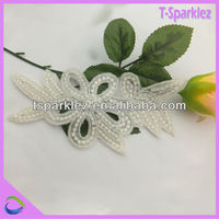 Best Sale colored Crystal Bridal Rhinestone Trim Applique