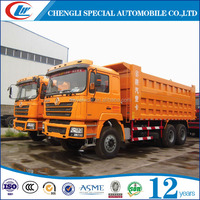 6x4 China 30tons sand tipper truck coal wood dump truck for sale