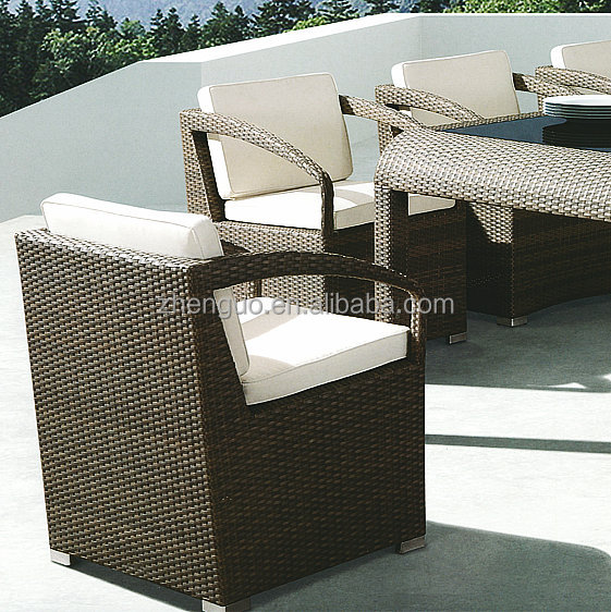 Luxury comfortable rattan garden treasures outdoor furniture