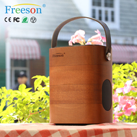 2016 Professional Karaoke Player Mini Digital Wooden Bluetooth Backpack Speaker For Factory Price - Buy Speaker For Party,Outdoo