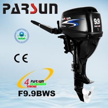 F9.9BWS electric start / tiller control /short shaft / 9.9hp 4-stroke outboard motor