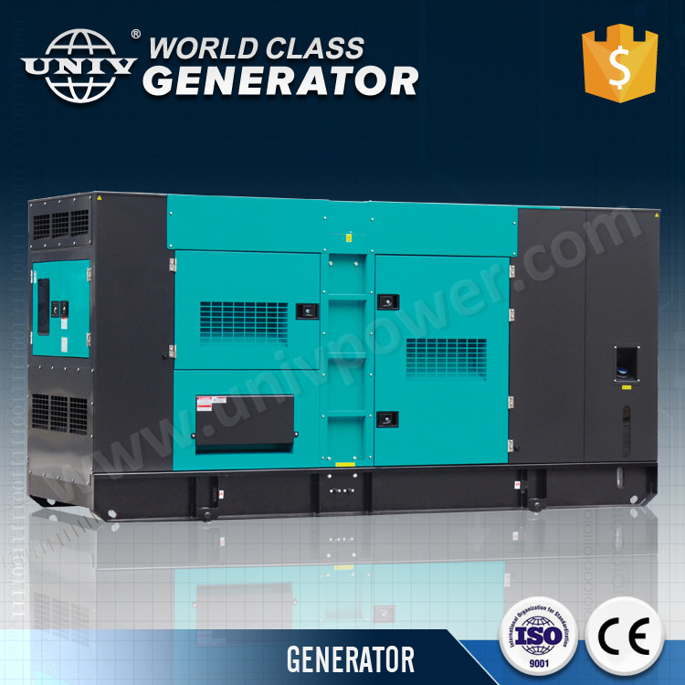 Hot sale soundproof 250kva power generator diesel fuel