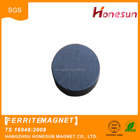 disc permanent anisotropic ferrite magnet for industrial