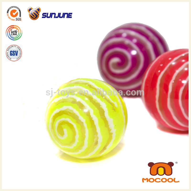 2015 wholesale Eco-Friendly Rubber hallow High Bounce Ball