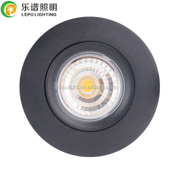 gyro tilt 0-100% dimming no flicker 9w 13w cri93 led downlight dimmable cob lamp