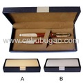 2017 promotion items double metal pen put in one box case metal ball pen