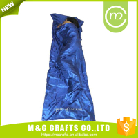 190T Outdoor Camping Mummy Down Hiking Cold Weather Lightweight Sleeping Bag